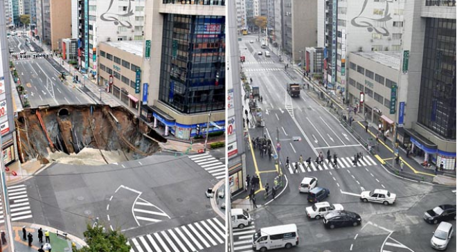 A 1,5 milliós városban beszakadt egy négysávos út. Tippelj mennyi idő kellett a helyreállításhoz?