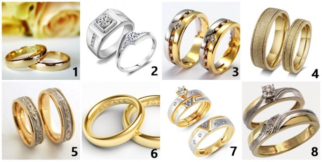 Melyik gyűrűt választod? EZ SOKAT ELÁRUL RÓLAD!
