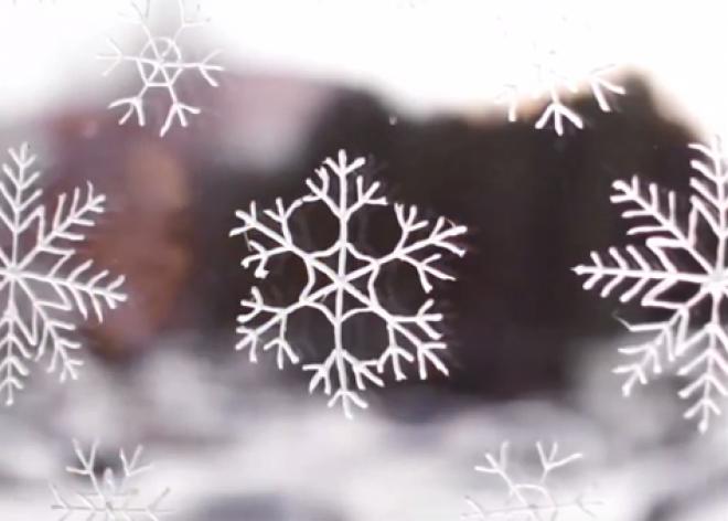 Készíts varázslatos jégvirágok az ablakodra!
