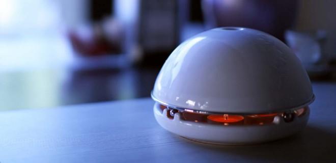 Ökofűtés áram, gáz, és gépészet nélkül. A kerámia hősugárzó fillérekből bemelegít egy szobát!